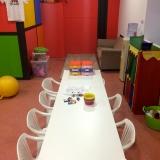 sala infantil - zona de manualidades y consola