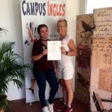Congratulations Cristina