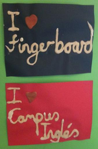 Taller de fingerboard Campus Ingles