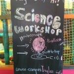 taller de ciencia campamento de verano ingles