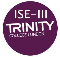 Examen ISE III escrito y oral Trinity College London