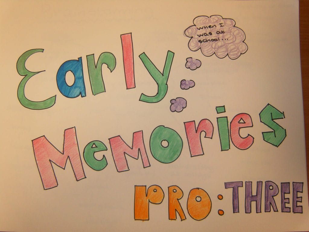 Early memories unit 3 grade 7