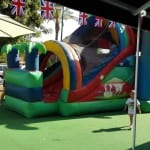bouncy castle at summer camp alhaurin