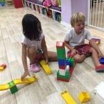 jugando con el lego