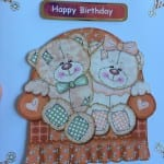 Happy Birthday card in 3D