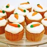 tartas de zanahorias en la semana del conejo