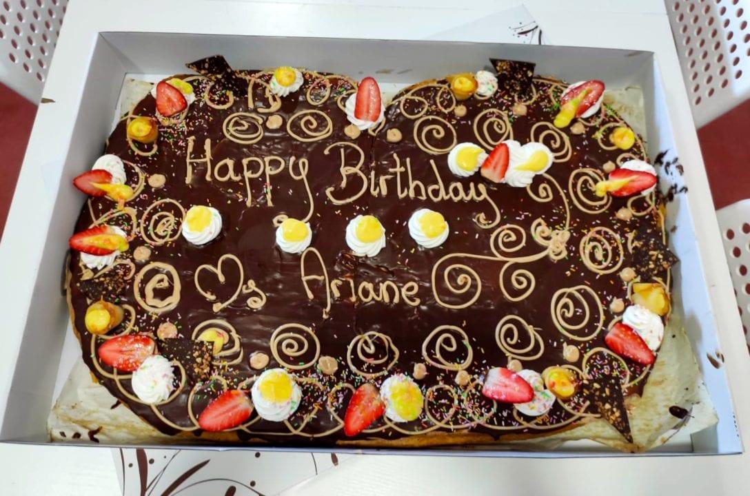 Ms Ariane's birthday cake