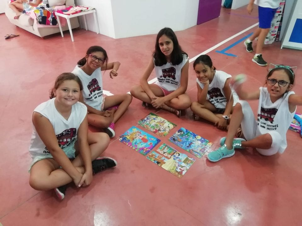 summer camp relaxation 2019