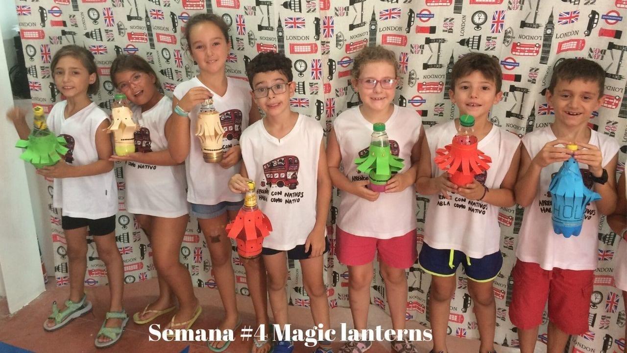 Magic lanterns - arts and crafts
