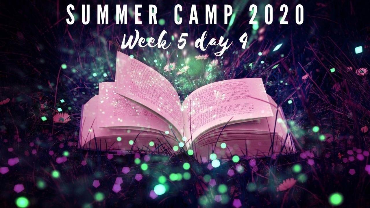 Magic show in summer camp