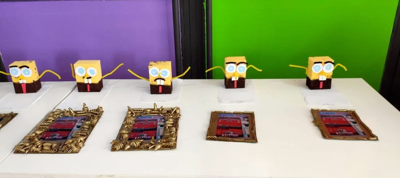arts and crafts Sponge Bob