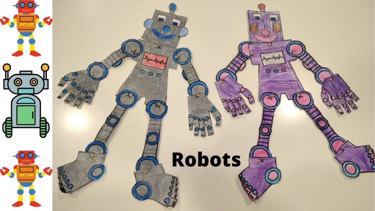 Robots - body parts